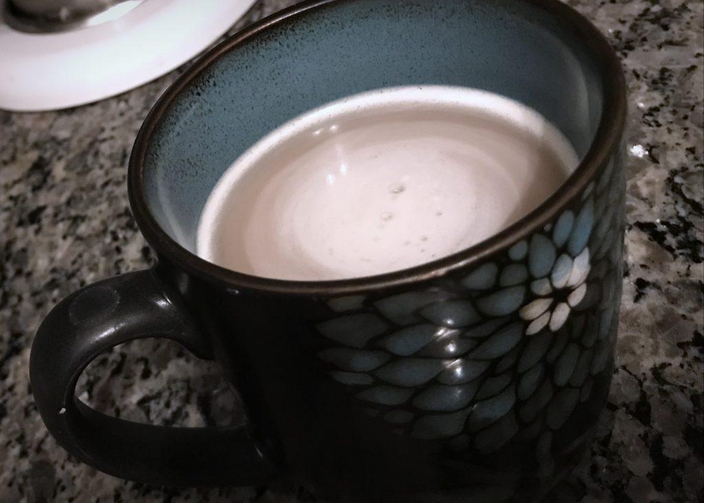 London Fog with Vanilla Coconut Milk