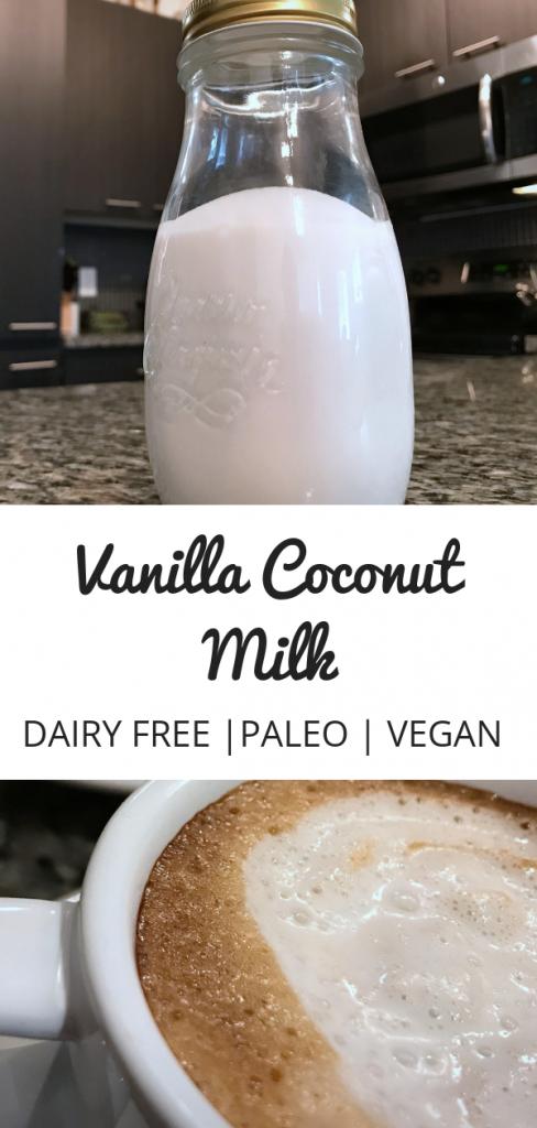 Vanilla Coconut Milk