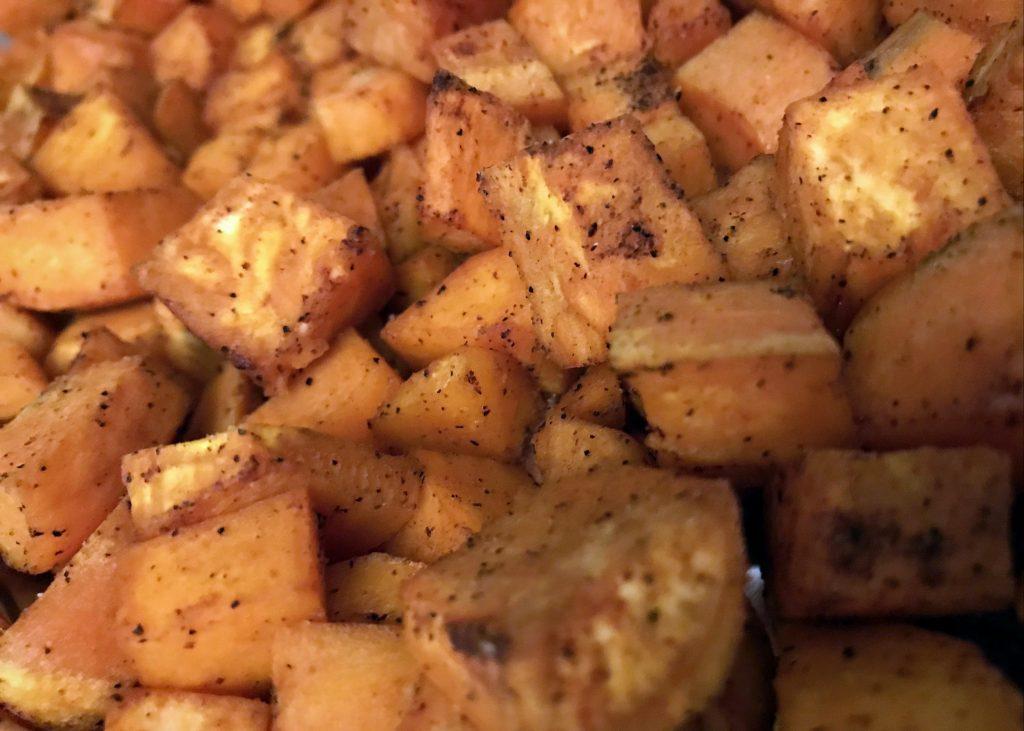 Smoked Paprika and Black Pepper Sweet Potatoes