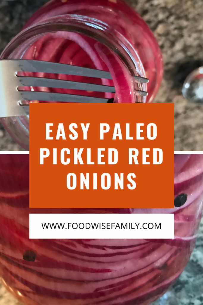 Easy Paleo Pickled Red Onions