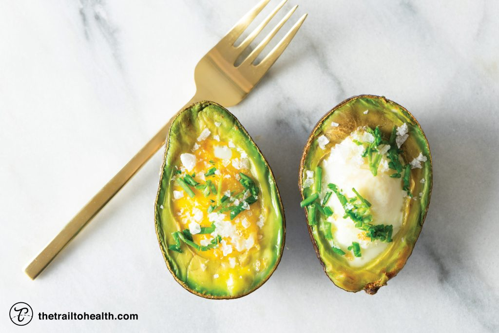 Baked Eggs in Avocado - Wandering Palate