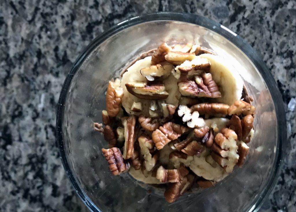Paleo Protein Powder - Chocolate Banana Nut Chia Pudding Parfait