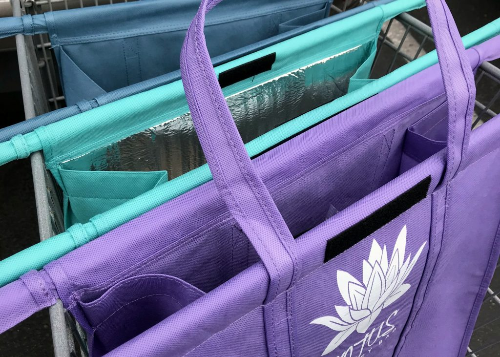 Lotus Trolley Bag - Weekly Grocery Trip