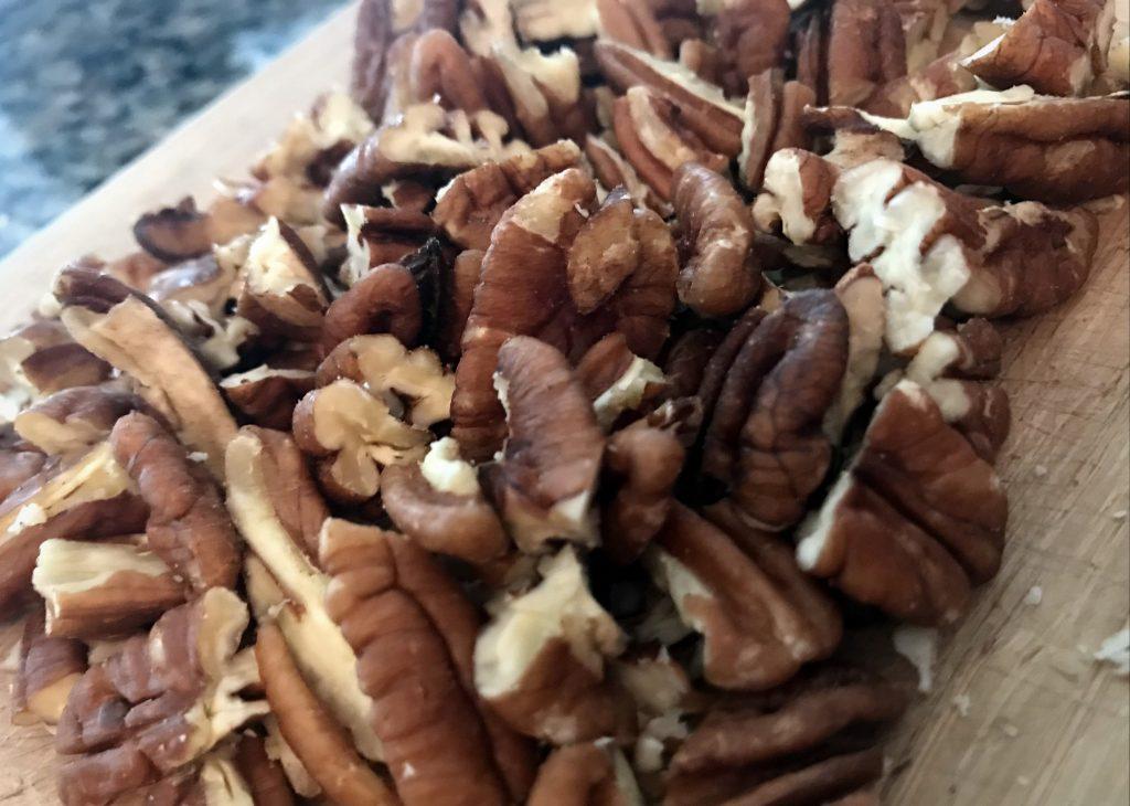 Paleo Banana Bread Pecans