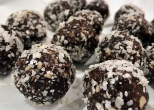 Paleo Chocolate Coconut Bites