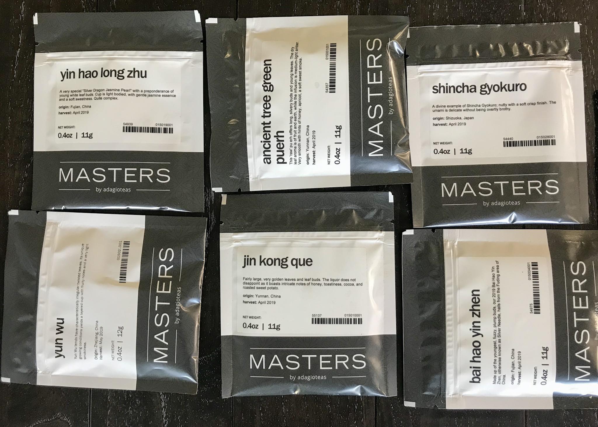 Adagio Masters Teas Review